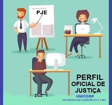 CAPACITAÇÃO PJE CRIMINAL 2.1 - PERFIL OFICIAL DE JUSTIÇA - TURMA 1