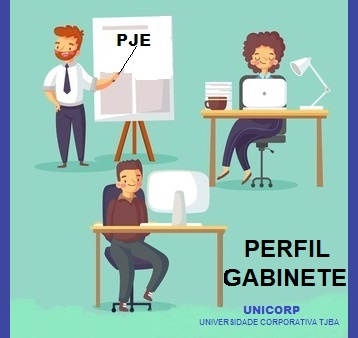 CAPACITAÇÃO PJE CRIMINAL 2.1 - PERFIL GABINETE - TURMA 2